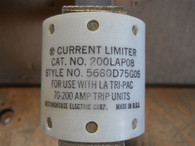 Westinghouse Current Limiter Fuse 200LAP08 For LA Tri-pac 70-200 Amp trip units