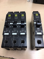 Square D EGB14020 20 Amp, 1 pole 277 V.ac Circuit breaker, New Surplus