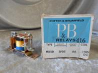 Potter Brumfield MR5D Relay Contact Arrangement SPDT, New Surplus in box