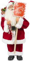 North Pole Santa 15 Inch