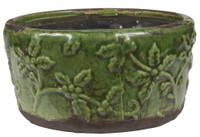 Swan Creek Green Round Bowl-Christmas Thyme (assorted patterns)