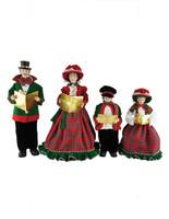 Christmas Day Carolers - Set of 4