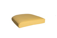 Outdoor Single U Cushion in Sunbrella Spectrum Daffodil