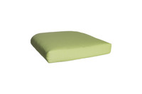 Outdoor Single U Cushion in Sunbrella Canvas Parrot