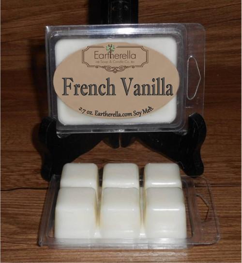 FRENCH VANILLA Soy Melts Tarts 2.7 oz