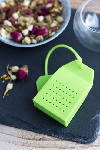 SILICONE TEABAG STRAINER
