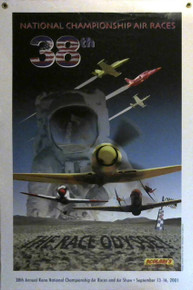 2001 Official Poster