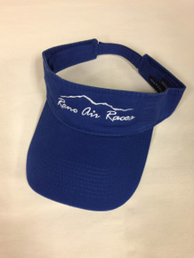 Visor royal blue