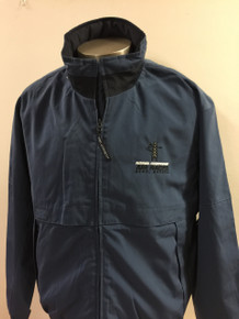 Men's windbreaker jacket blue