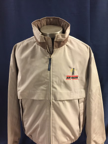 Men's windbreaker jacket stone