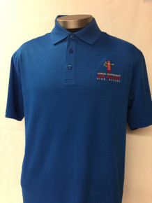 Men's Dry Mesh Polo sky diver blue