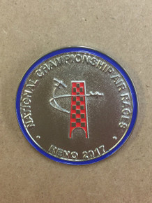 2017 Official Bob Hoover tribute challenge coin