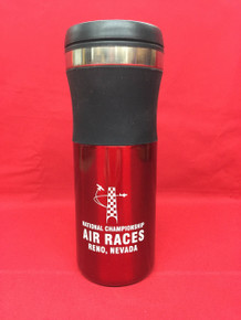 Travel mug red