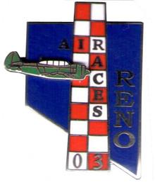 2003 Official Pylon Pin