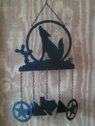 Howl at the Moon Windchime