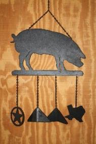 Pig Windchime