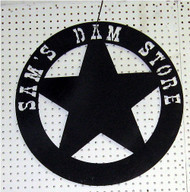 Star Customized Sign