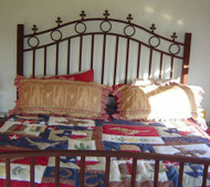 Double Arch Bed Frame