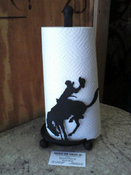 Bucking Bronco Paper Towel Holder