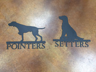 Pointer / Setter Sign