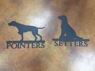 Pointer / Setter Sign