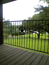Texas Star Railing