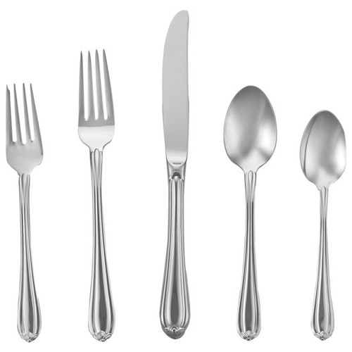 Lenox Melon Bud Frosted Flatware Set