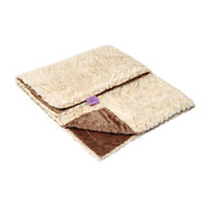 Lux Brown Blanket