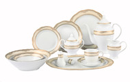 Lorenzo Isabella 57 Pc. Dinnerware Set