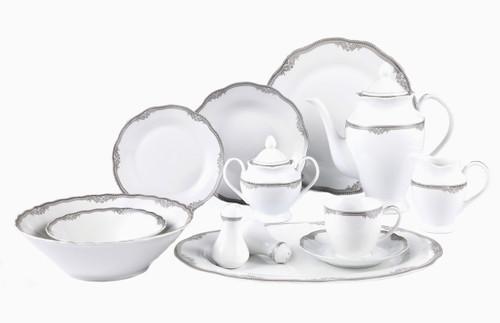 Lorenzo Elizabeth 57 Pc. Dinnerware Set
