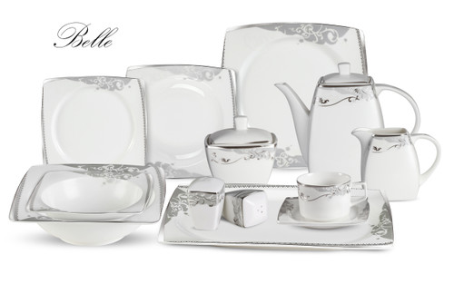 Lorenzo Belle 57 Pc. Dinnerware Set