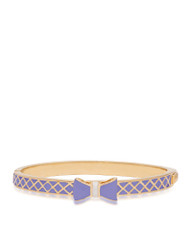 Bow Bangle - Purple