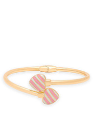 Lily Nily Bypass Bangle Striped Heart