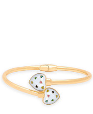Lily Nily Bypass Bangle Puffed Heart