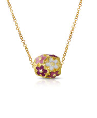 Lily Nily Flower Ball Pendant