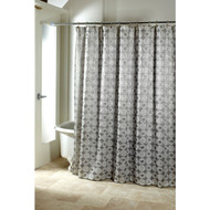 Avanti Galaxy Silver  Shower Curtain
