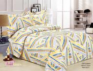 French Blocks Linen Set