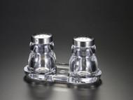 Acrylic Salt & Pepper Set w/ Base
