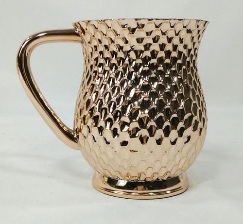 Copper Honeycomb Metal Coated Washing Cup