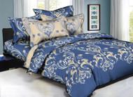 Classique Cobalt Royalty Linen Set