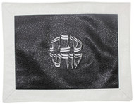 Majestic Collection Vinyl Challah Cover - Black/ White (GMG-CC239)