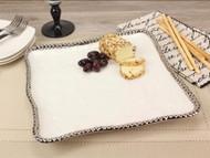 Pampa Bay Salerno Square Serving Platter (CER-1400-W)