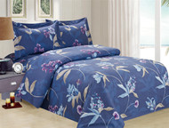 French Orchid Linen Set