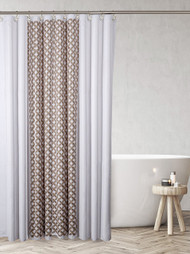 Diamond Lattice Shower Curtain (CDL-44320)