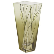 Badash Evergreen Square Vase