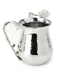 Classic Touch Tervy Frangipani Hammered Washing Cup