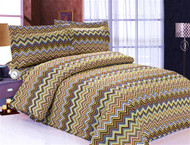 French Multi Waves Linen Set