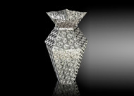 Metalace Flower Shades Vase