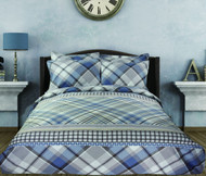 Plaid 400 Linen Set