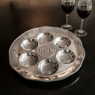 Beatriz Ball Seder Plate with Pearls